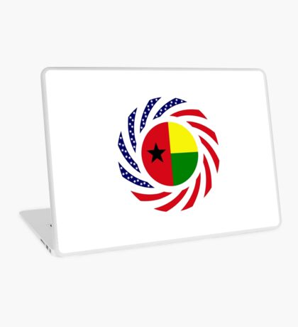 Guinea Bissau American Multinational Patriot Flag Series Laptop Skin