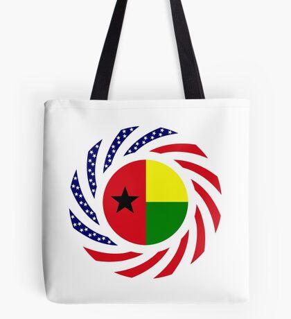 Guinea Bissau American Multinational Patriot Flag Series Tote Bag