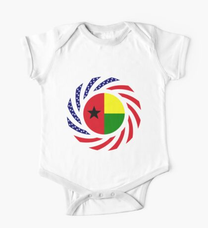 Guinea Bissau American Multinational Patriot Flag Series Kids Clothes