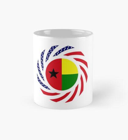 Guinea Bissau American Multinational Patriot Flag Series Mug