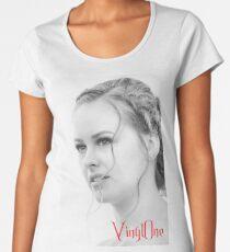 Classic portrait by Blunder for Vinylone Women's Premium T-Shirt