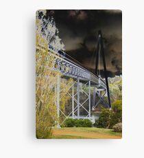 Batman Bridge Canvas Print