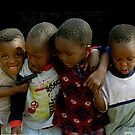 Boys of Soweto, South Africa by Bev Pascoe