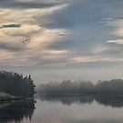 Misty River by yolanda