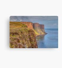 Kilt Rock Sea Cliff Metal Print