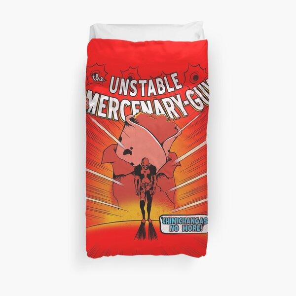 Unstable Mercanary Guy Duvet Cover