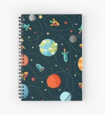 Space Adventure Spiral Notebook
