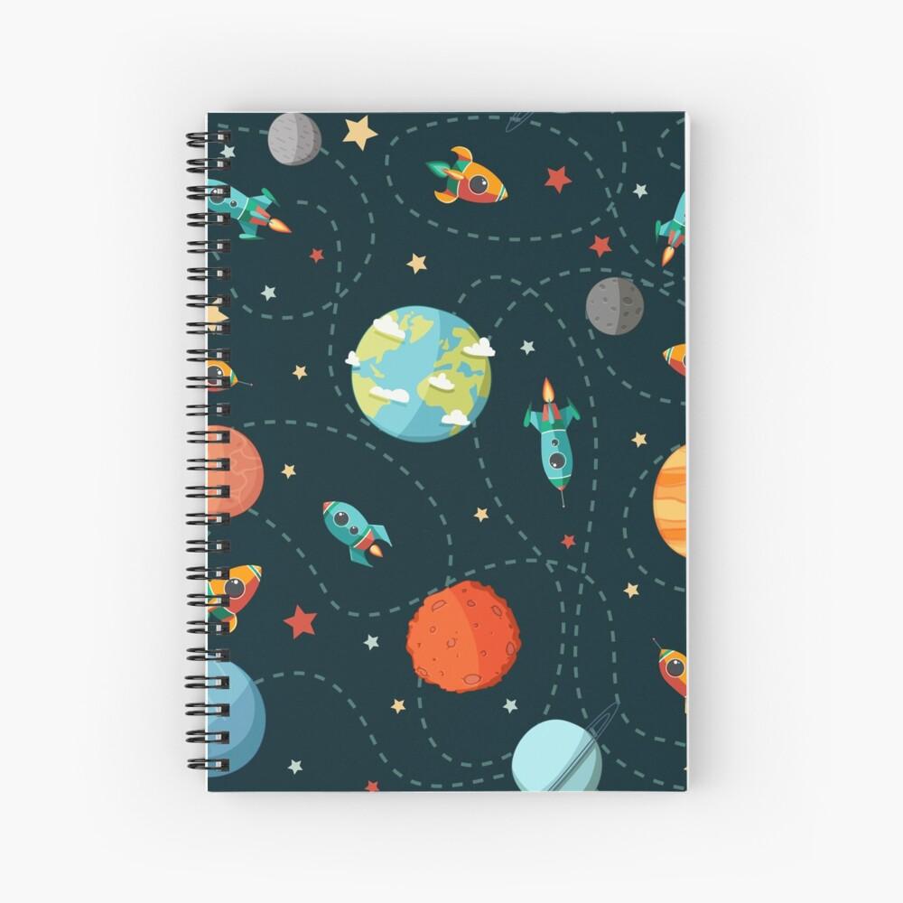 Space Adventure Spiral Notebook