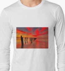 """""""Twilight At The Springs"""" Long Sleeve T-Shirt"""