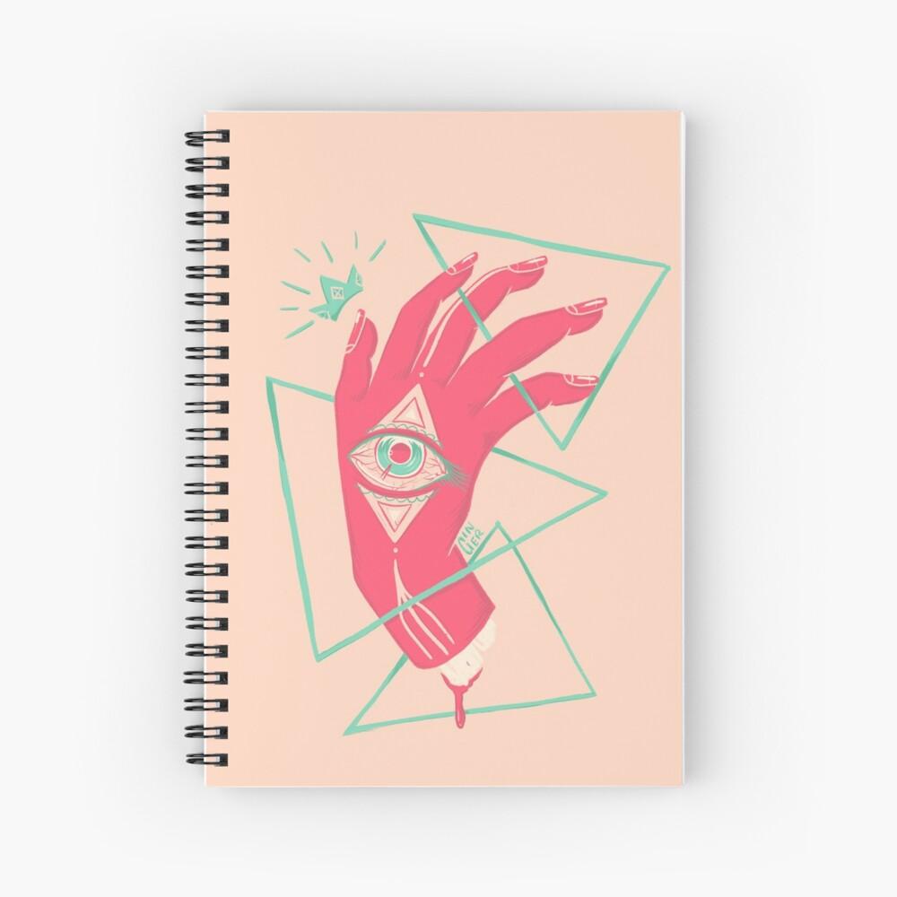 Surreal Spiral Notebook
