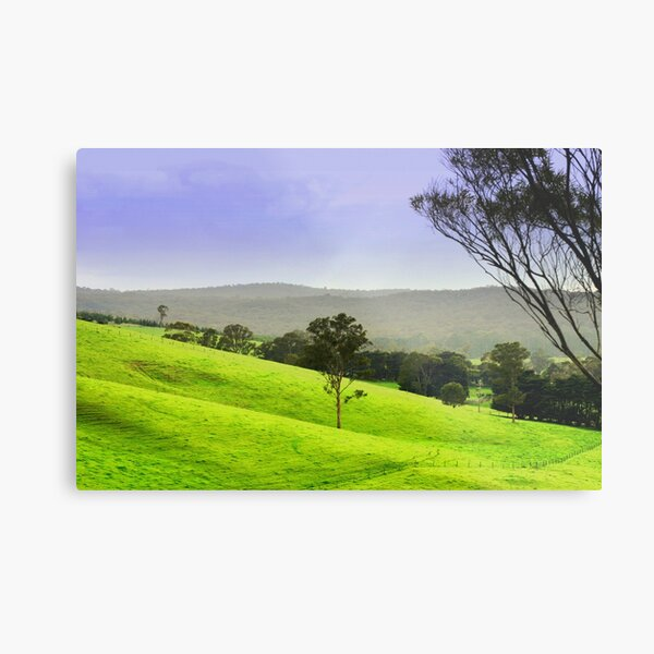 Valley of a thousand Hills Metal Print