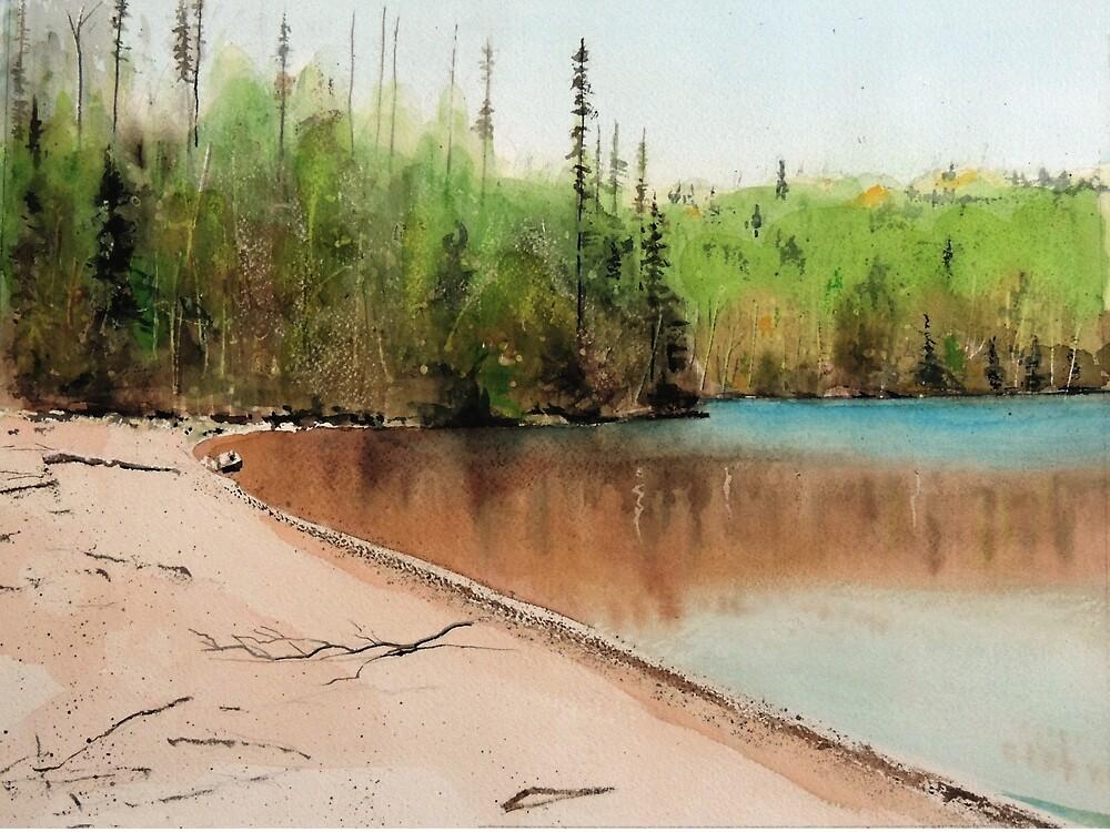 Sox Lake #2 by Douglas Hunt