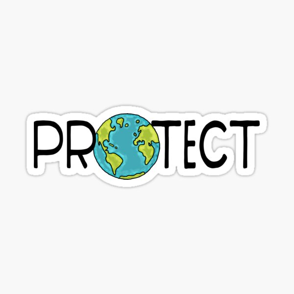 Protect Earth Sticker
