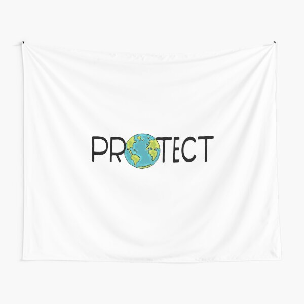 Protect Earth Tapestry