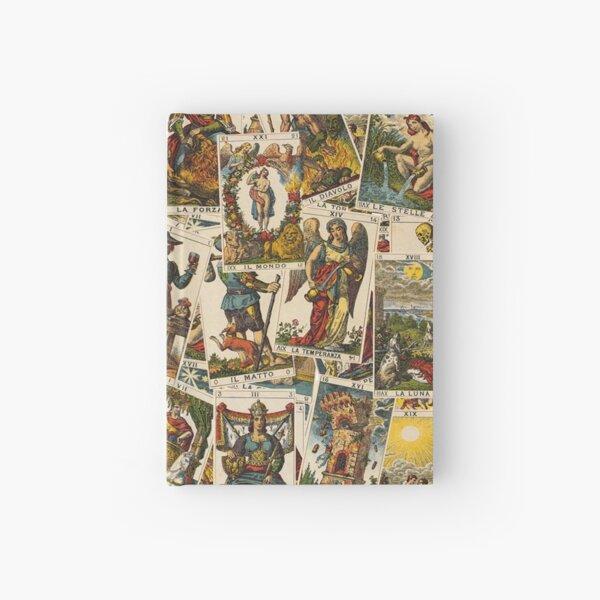 Tarot cards pattern Hardcover Journal