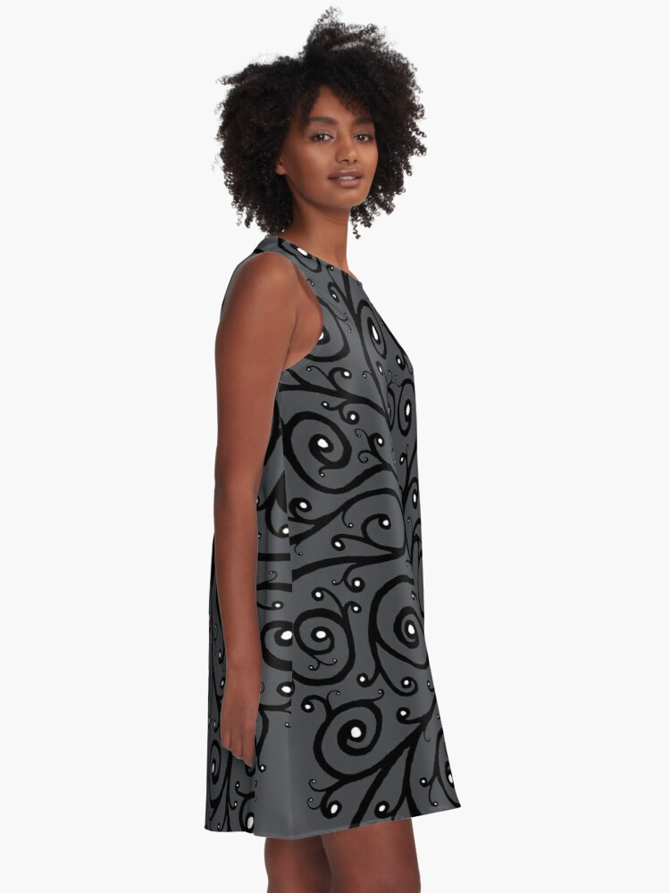 Alternate view of The Owl A-Line Dress