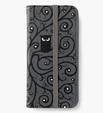 Die Eule iPhone Flip-Case/Hülle/Skin