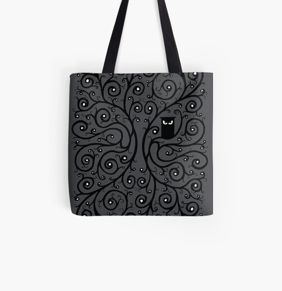 The Owl All Over Print Tote Bag