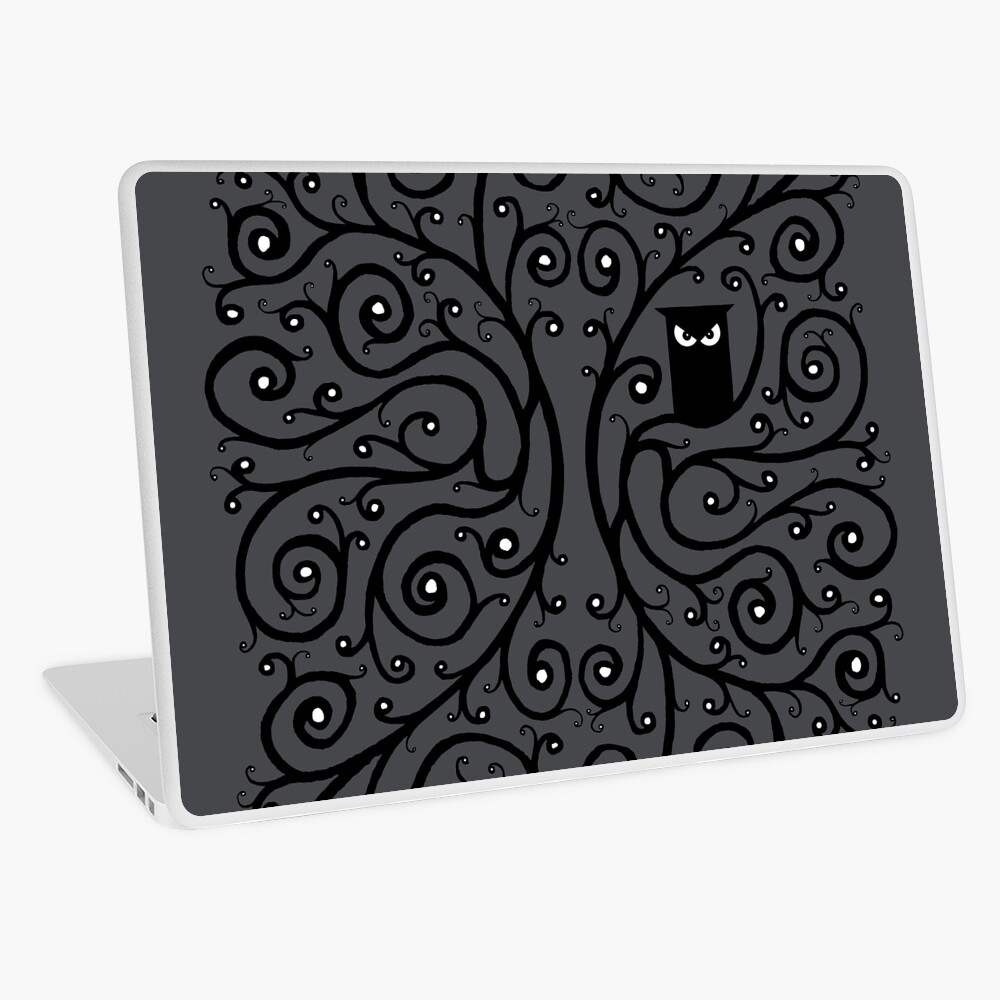 The Owl Laptop Skin
