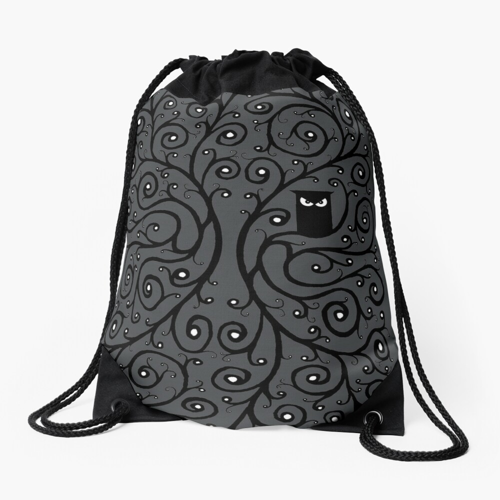 The Owl Drawstring Bag