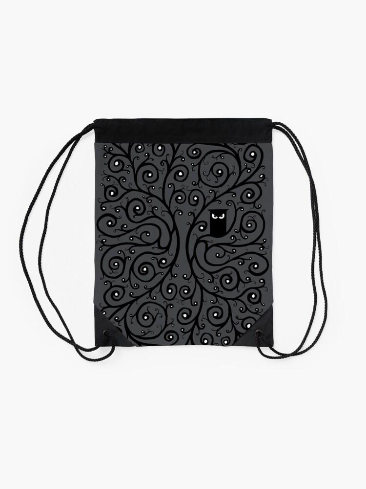 Alternate view of The Owl Drawstring Bag