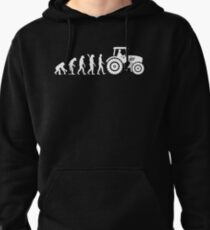 Evolution Tractor Pullover Hoodie