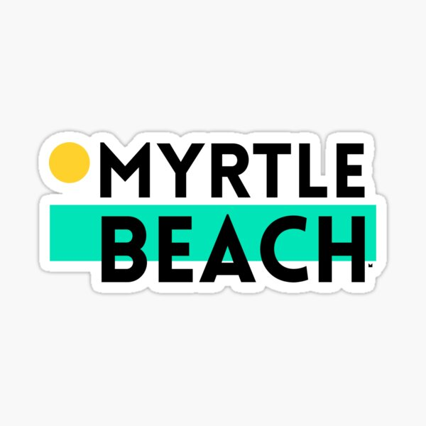 MYRTLE BEACH BLOCK Sticker
