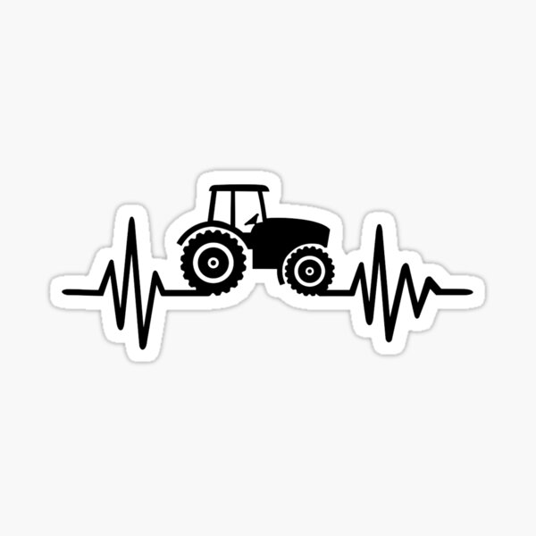 FARM RAISED Sticker Car Truck Tractor Animal Vinyl Decal Country Crops Food Love