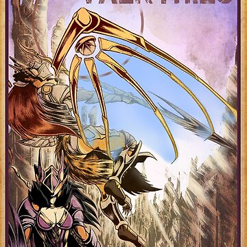 Valkyrie Poster by Boneitis
