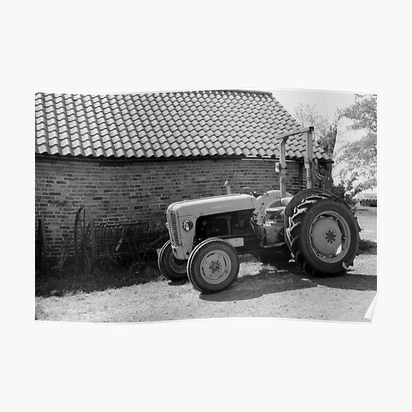 Massey Ferguson Tracteur Poster