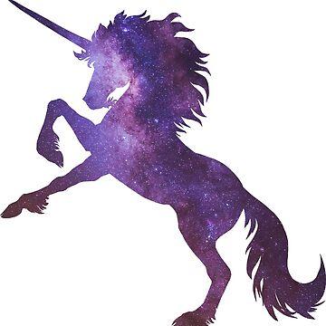 Unicornio cósmico de Hareguizer