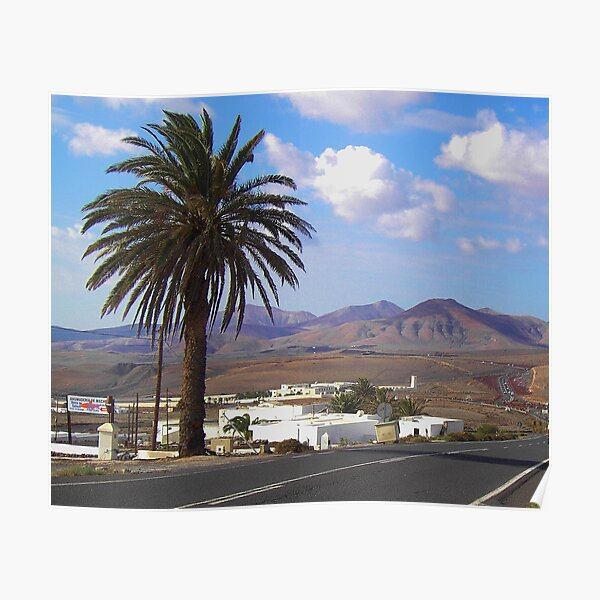 Lanzarote (Spanish Canary Islands) Poster