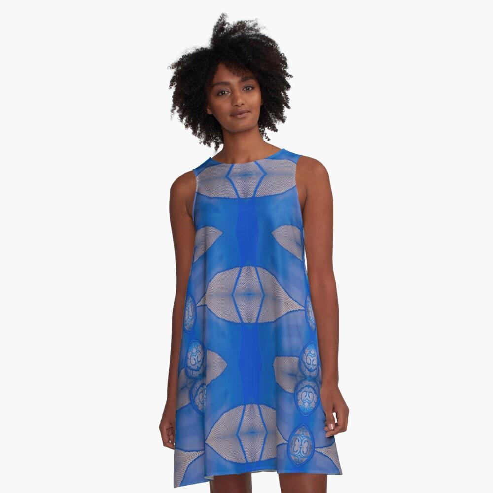 Decor, tracery, garniture, symmetry, modish, astonishing, amazing, surprising A-Line Dress