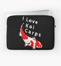 I love koi carps Laptop Sleeve