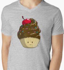 Cutie Cupcake Men's V-Neck T-Shirt