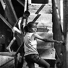 No Turning Back....Rochina Favela, Rio de Janeiro Brazil 2009 by Tash  Menon