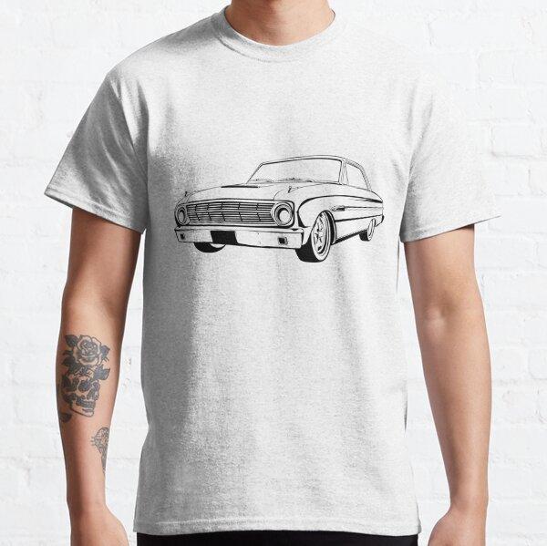 1963 Ford Falcon Sprint Vintage Classic Car Mens T shirt Tee Top T-shirt Art  Classic T-Shirt