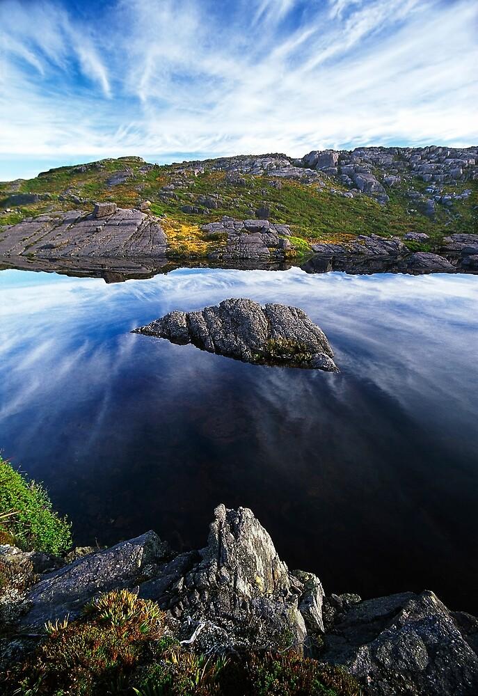 Tyndall Range, western Tasmania by Kevin McGennan