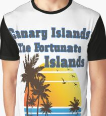 Canary Islands The Fortunate Islands Graphic T-Shirt