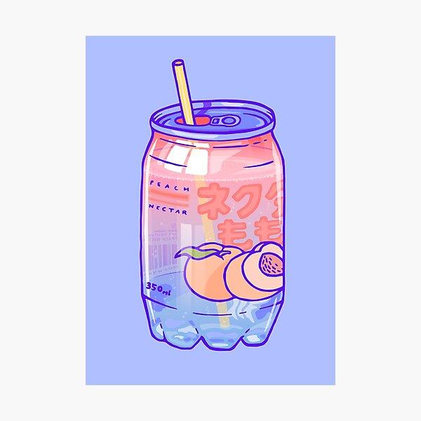 Peach Bubbles Photographic Print
