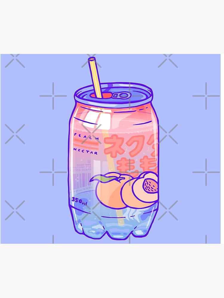 Peach Bubbles by LauraOConnor
