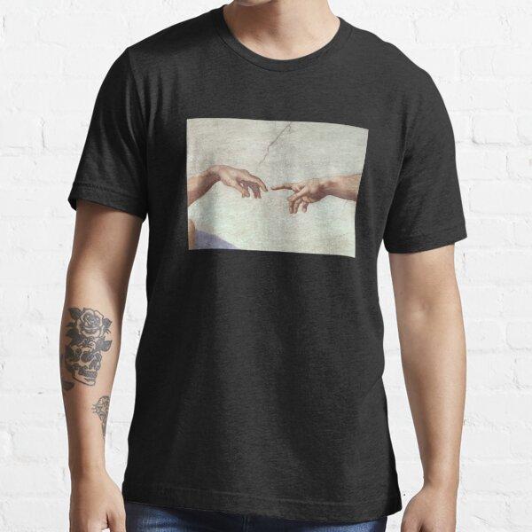 creation of adam- michaelangelo Essential T-Shirt