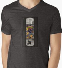 Retro Ninja Turtles Video Men's V-Neck T-Shirt