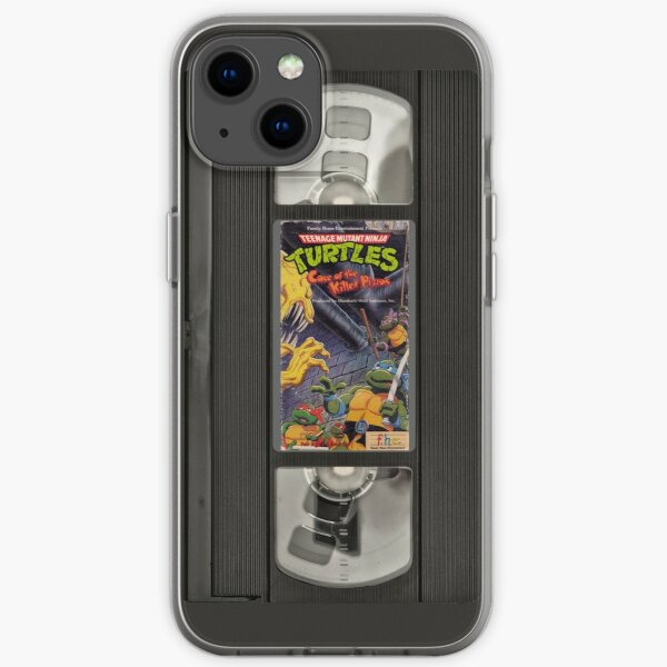 Retro Ninja Turtles Video iPhone Soft Case