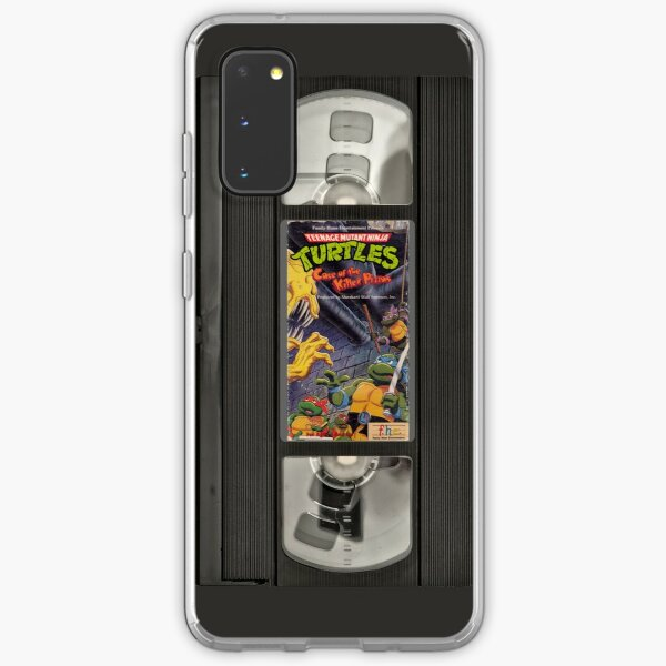Retro Ninja Turtles Video Samsung Galaxy Flexible Hülle