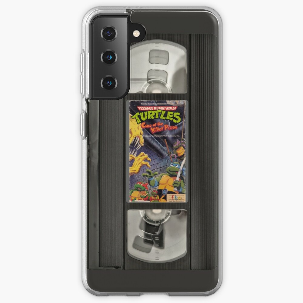 Retro Ninja Turtles Video Case & Skin for Samsung Galaxy