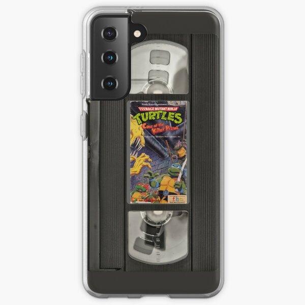 Retro Ninja Turtles Video Samsung Galaxy Soft Case