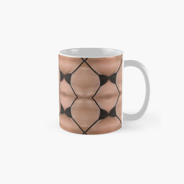 Symmetry, reiteration, repetition, repeat,   recurrence, iteration, relapse, colors Classic Mug