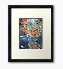 Fall River Framed Print
