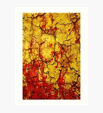 fire cracker Art Print